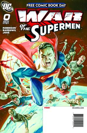 War of The Supermen #0  by  Written by James Robinson; Art by Eddy Barrows