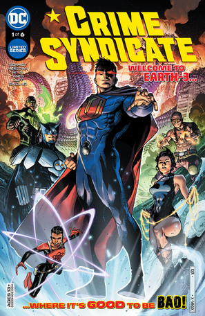 Crime Syndicate #1 Cover A Jim Cheung