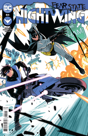 Nightwing #84 Cover A Bruno Redondo (Fear State)