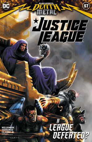 Justice League #57 Cover A Liam Sharp (Dark Nights Death Metal)