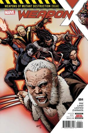 Weapon X #4