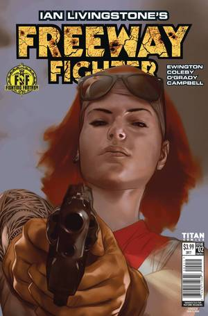 Ian Livingstone Freeway Fighter #2 (Of 4) Cover A Oliver