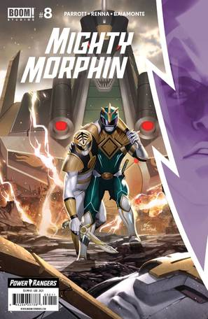 Mighty Morphin #8 Cover A Lee