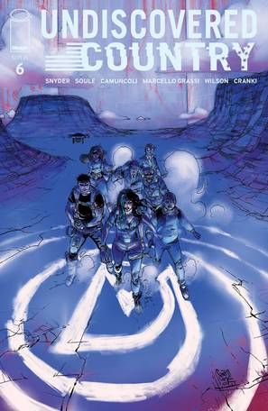 Undiscovered Country #6 Cover A Camuncoli (Mature Readers)