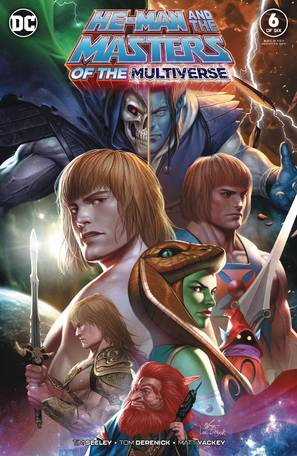 He Man And The Masters Of The Multiverse #6 (Of 6)