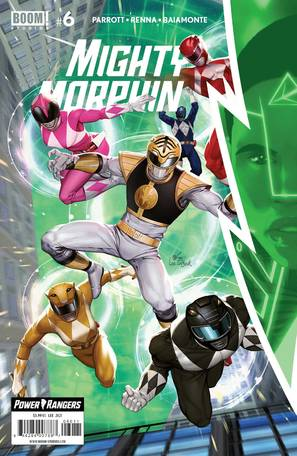 Mighty Morphin #6 Cover A Lee