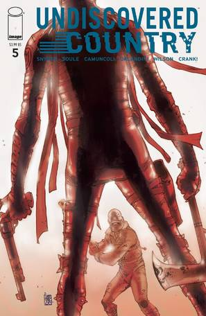 Undiscovered Country #5 Cover A Camuncoli (Mature Readers)