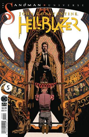 John Constantine Hellblazer #5 (Mature Readers)
