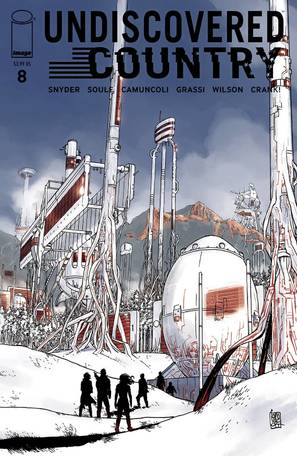 Undiscovered Country #8 Cover A Camuncoli (Mature Readers)
