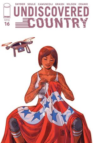 Undiscovered Country #16 Cover A Camuncoli (Mature Readers)