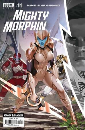 Mighty Morphin #11 Cover A Lee
