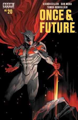 Once & Future #20 Cover A Mora