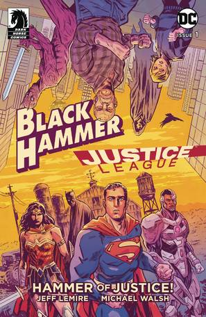 Black Hammer Justice League #1 (Of 5) Cover A Walsh
