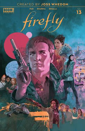 Firefly #13 Cover A Main Aspinall
