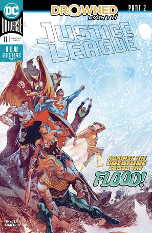 Justice League #11 (Drowned Earth)