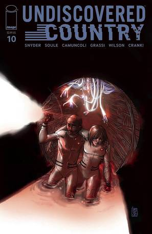 Undiscovered Country #10 Cover A Camuncoli (Mature Readers)
